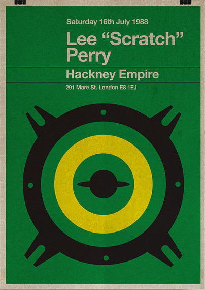 Lee 'Scratch' Perry Print