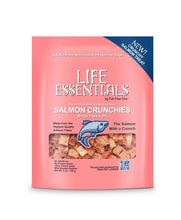 "Load image into Gallery viewer, Life Essentials Wild Alaskan Salmon ""Crunchies"" 5oz Pouch (Freeze Dried)"