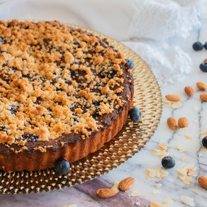 Load image into Gallery viewer, Keto Blueberry Crumble Cake