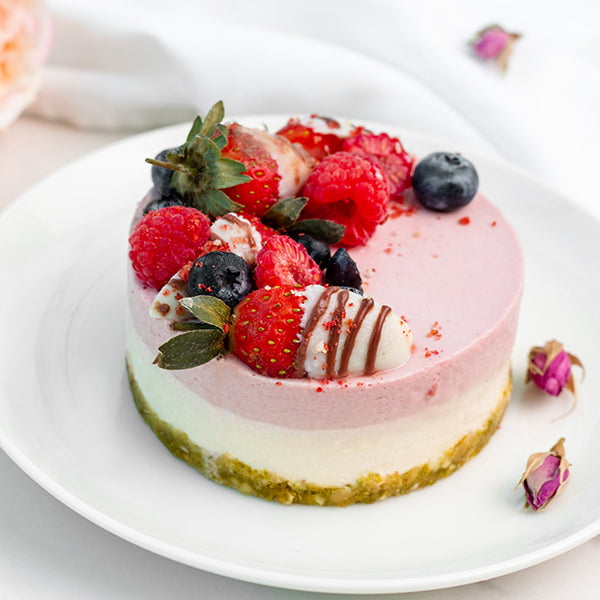 Load image into Gallery viewer, Keto Valentine's Cake ( Cake for 2)