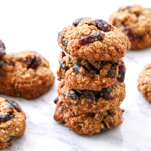 Cranberry & Oats Cookies