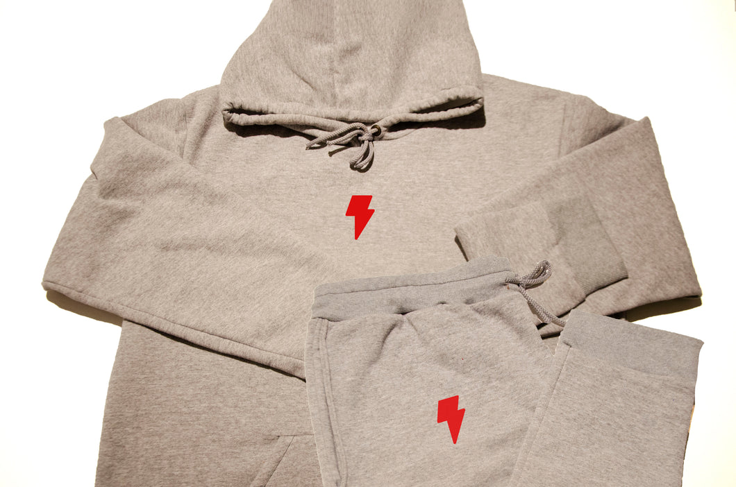 Grey BOLT Sweatsuit
