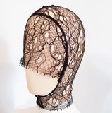SAMPLE - French Lace Hood - style #002