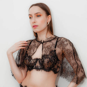 Isolation Lace Capelet #001