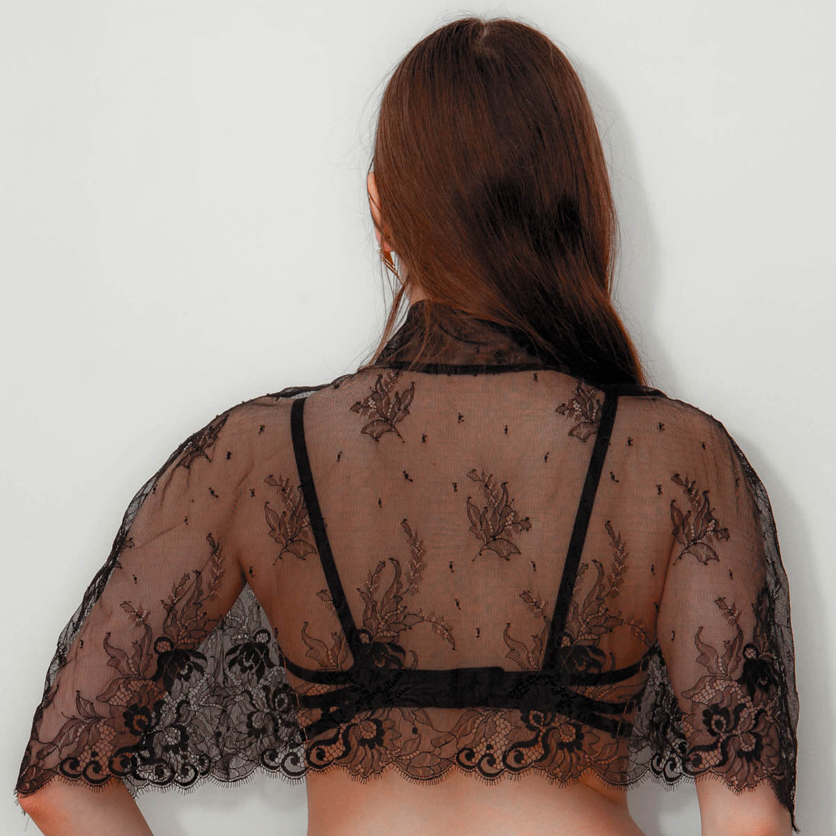 Isolation Lace Capelet #002