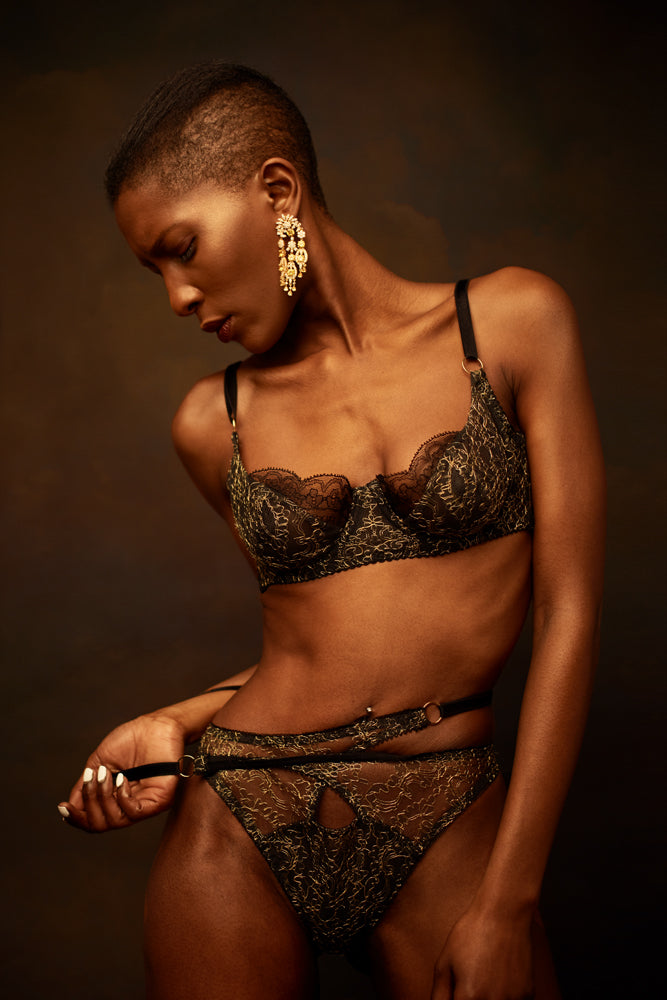 Hecate Balconette Bra - MADE TO ORDER