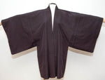 Vintage Black Silk Men's Haori