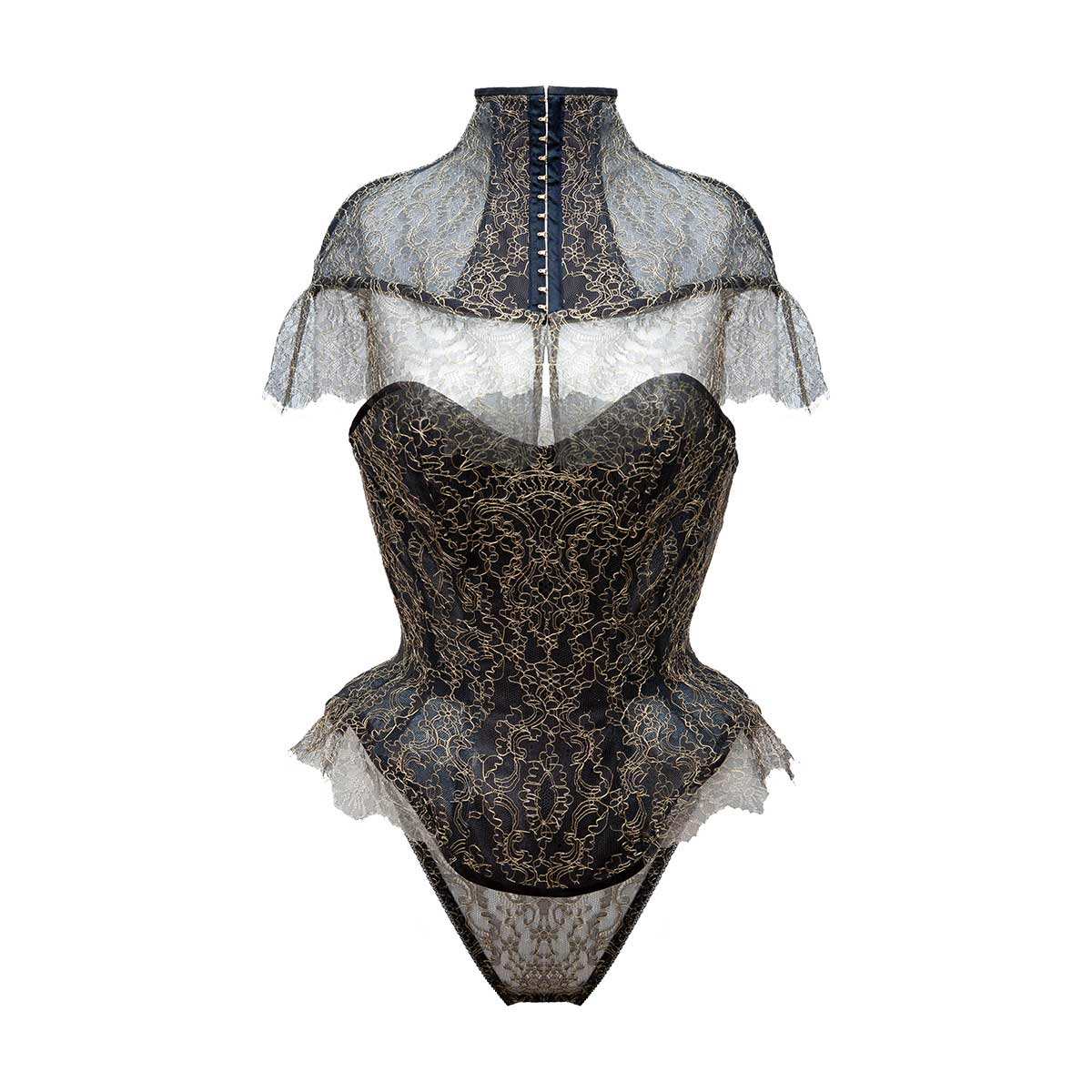 Hecate Demi-Bust Corset - MADE TO ORDER