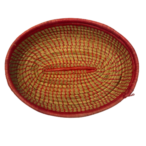 Hand Woven Basket Tray