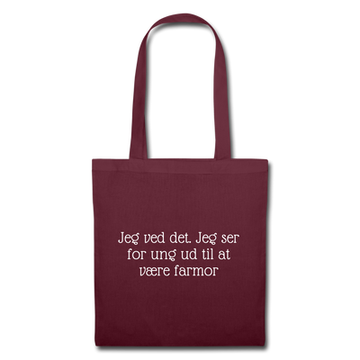 For ung til at være farmor - Citatshop