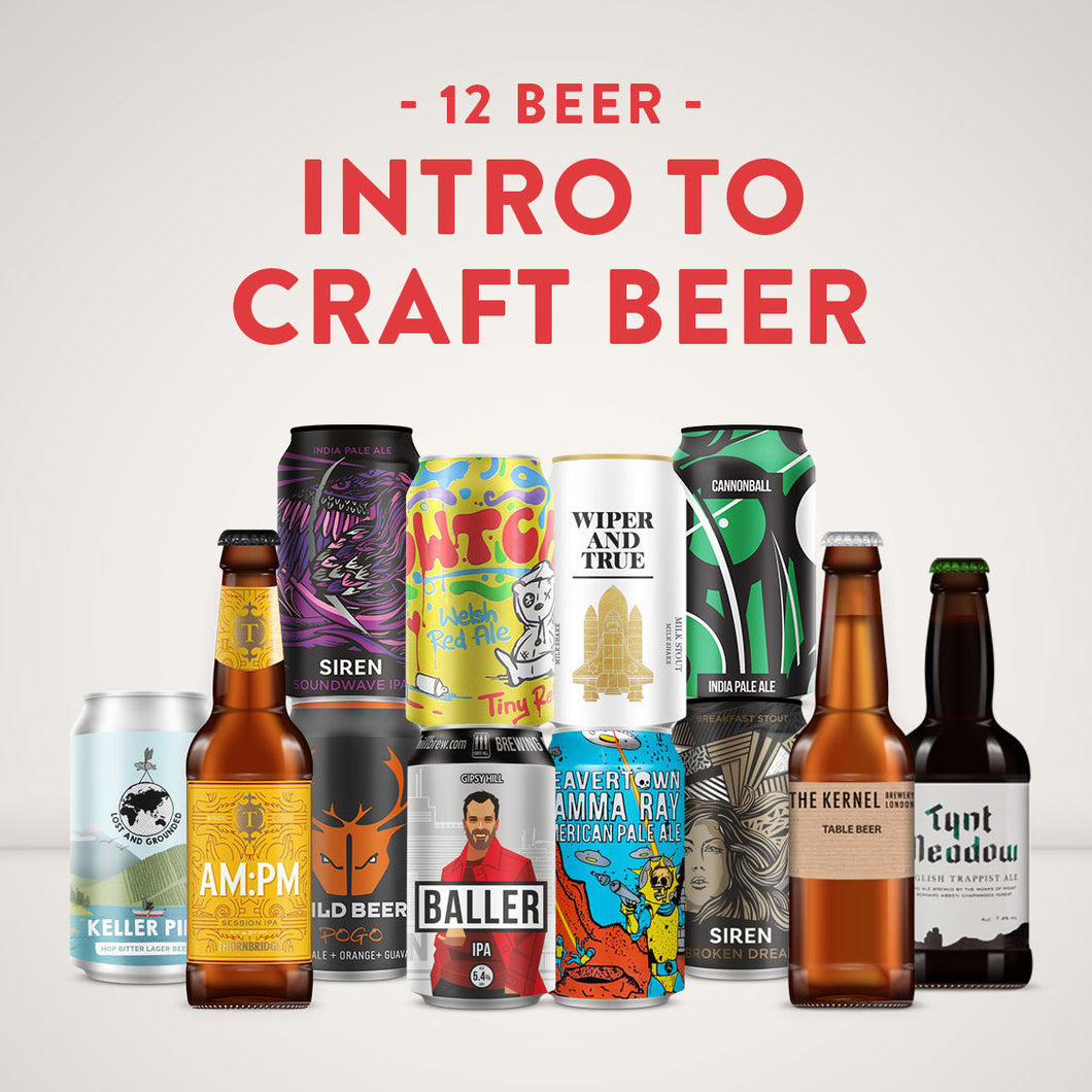 Craft Beer Introduction - 12 Beer Mixed Case