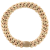 Image of Kknekki Peach-Light Beige stripe from Kknekki original hair ties