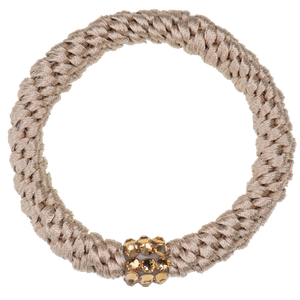 Image of Kknekki Rhinestone New Beige from Kknekki original hair ties