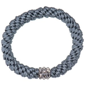 Image of Kknekki Rhinestone Grey Blue from Kknekki original hair ties
