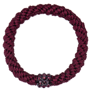 Image of Kknekki Rhinestone Bordeaux from Kknekki original hair ties