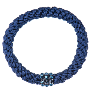 Image of Kknekki Rhinestone Navy from Kknekki original hair ties