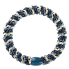 Image of KKnekki Mix Navy-Petrol glitter from Kknekki original hair ties