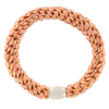 Image of KKnekki Peach glitter from Kknekki original hair ties