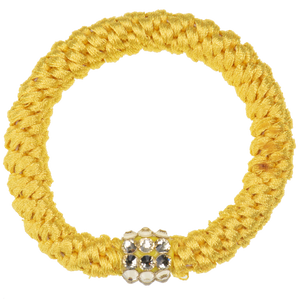 Image of Kknekki Rhinestone Yellow from Kknekki original hair ties