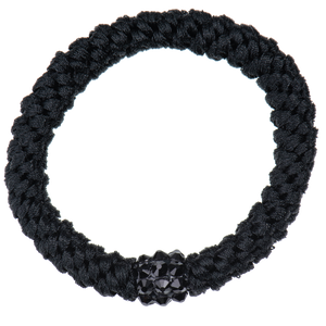Image of Kknekki Rhinestone Black  from Kknekki original hair ties
