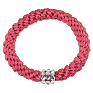 Image of Kknekki Rhinestone Rasberry from Kknekki original hair ties