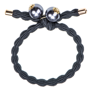 Image of Kknekki Greyblue w-pearls from Kknekki original hair ties