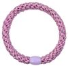 Image of Kknekki Pink Silver glitter from Kknekki original hair ties