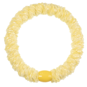 Image of Kknekki velvet light yellow from Kknekki original hair ties