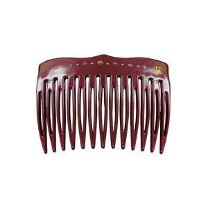 Image of Comb Swarovski  Aubergin gloss from Bon Dep Icons