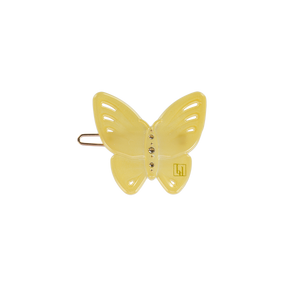Image of Butterfly clip Light Yellow from Bon Dep Icons