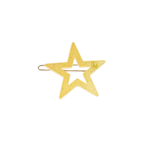 Image of Star clip Light Yellow from Bon Dep Icons