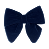 Image of Luxury Velvet Bow Navy from Bon Dep Icons