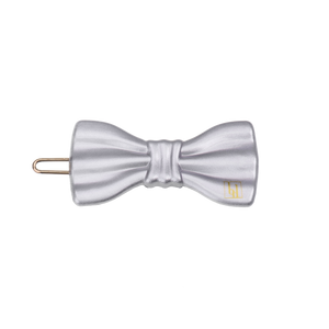 Image of Small Bow clip Silver gloss from Bon Dep Icons
