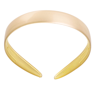 Image of Hairband wide Beige gloss from Bon Dep Icons