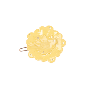 Image of Small flower clip Swarovski light yellow from Bon Dep Icons