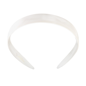 Image of Hairband wide offwhite from Bon Dep Icons