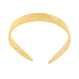 Image of Hairband wide light yellow from Bon Dep Icons