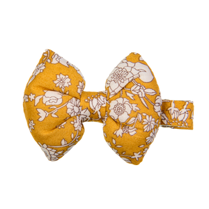 Image of Bow on aligator mw Liberty Summer blooms  from Kids