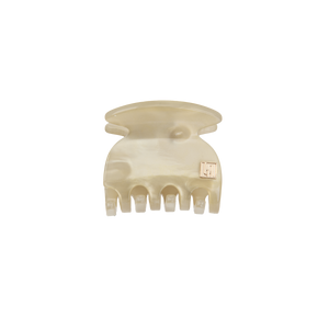 Image of Claw clip Ivory 3,5cm Handmade from Bon Dep Icons