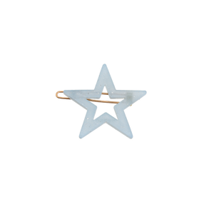 Image of Star clip Light blue from Bon Dep Icons