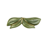 Image of Orchid clip dark green from Bon Dep Icons