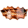 Image of Oak leaf handmade Horn from Bon Dep Icons