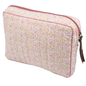 Image of Pouch big mw Liberty Chamomille pink from Bon Dep Essentials