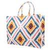 Image of Tote bag mw Liberty Geo Jewel linen from Bon Dep Essentials