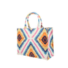 Image of Tote bag mini mw Liberty Geo Jewel linen from Bon Dep Essentials