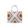 Tote bag mini mw Liberty Geo Jewel linen