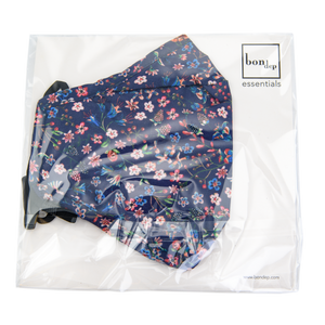 Image of Facemask mw Liberty Donna Leigh Navy 4pcs from Bon Dep Essentials