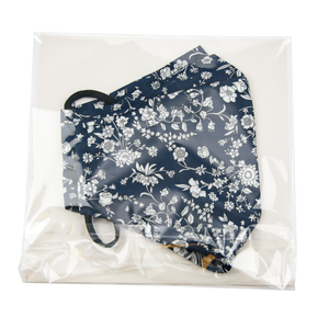 Image of Facemask mw Liberty Summer bloom navy from Bon Dep Essentials