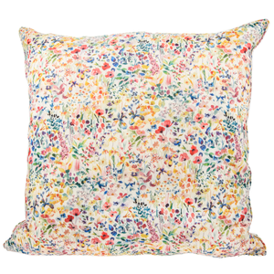 Image of Pillow cover mw Liberty FeldaLinenMulti from Bon Dep Essentials
