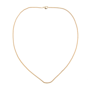 Image of Emilia Twisted gold necklace 45 cm from Emilia by Bon Dep